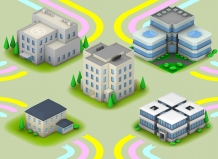 3d cornwall 3D infographic buildings delaney digital