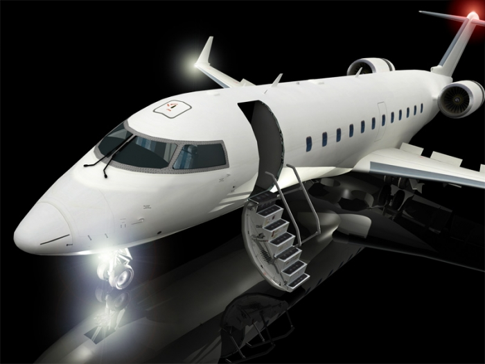 3d cornwallbombardier corporate jet cjr200 delaney digital