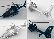 blue thunder 3d game model 4 delaney digital 3d cornwall