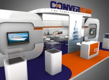 exhibition stand design converteam delaney digital 3d cornwall