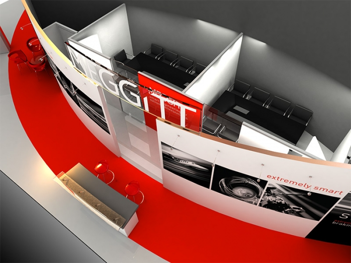 exhibition stand design meggitt delaney digital 3d cornwall