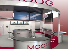 exhibition stand design moog delaney digital 3d cornwall