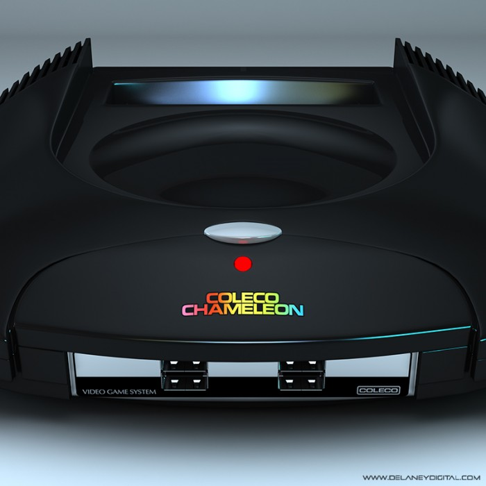 coleco chameleon front panel delaney digital 3d cornwall