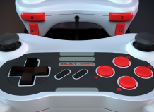 3d product visualization nintendo controller delaney digital 3d cornwall