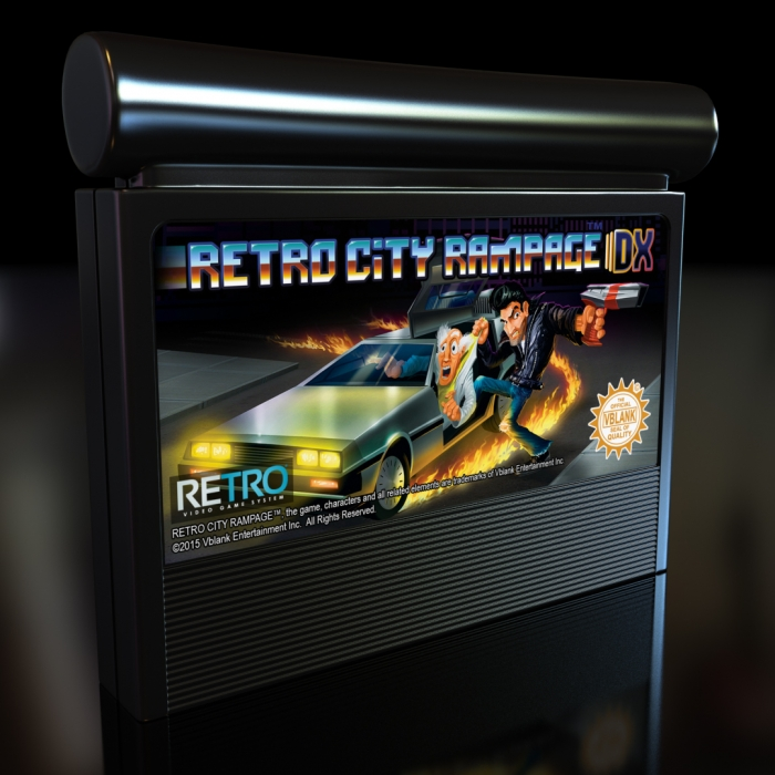 atari jaguar cartridge retro city rampage delaney digital 3d cornwall